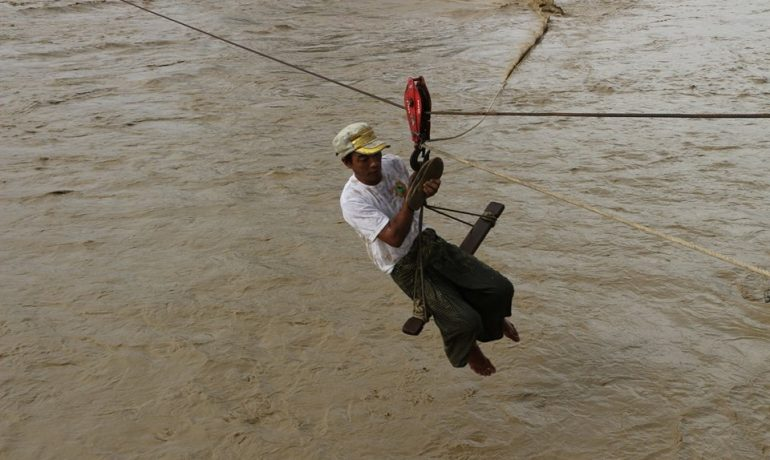 Red alert in Monywa as floodwaters continue to rise