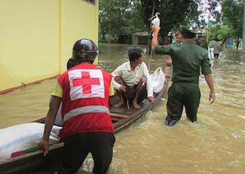 Red Cross calls for donations as floods continue