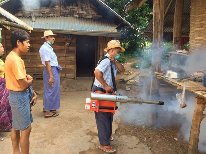 Burma battles Japanese encephalitis