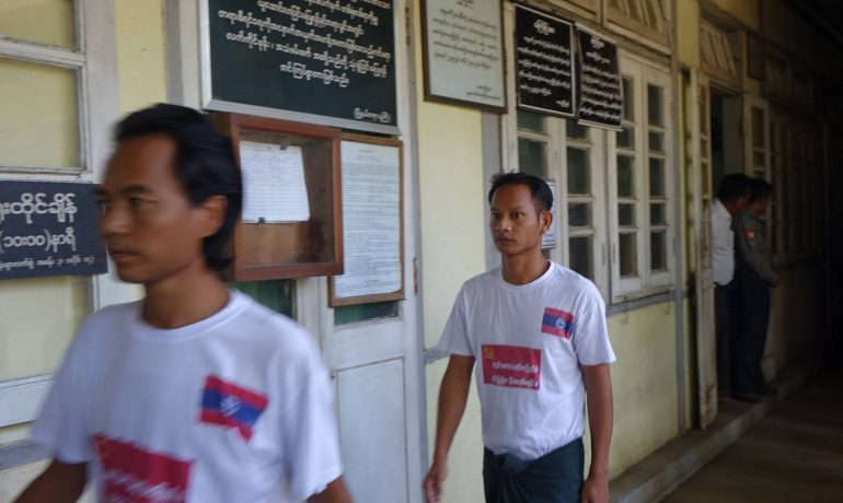 Sagaing marchers get prison for May protests