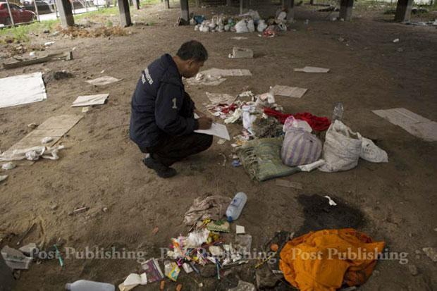 Thai police arrest Burmese man for homeless murders