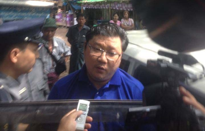 NLD official charged under telecoms law