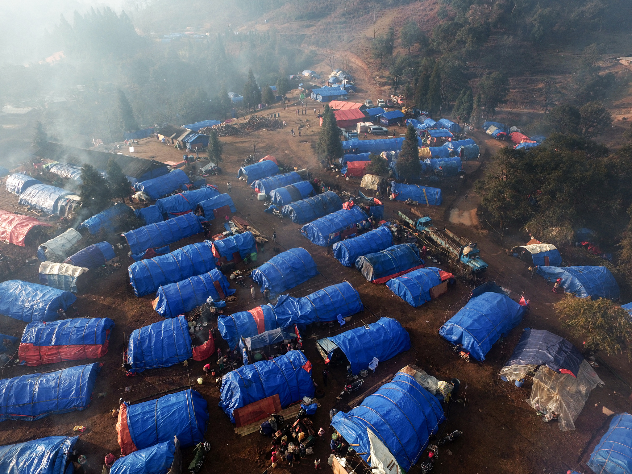 Inside one of Kachin State's newest IDP camps DVB