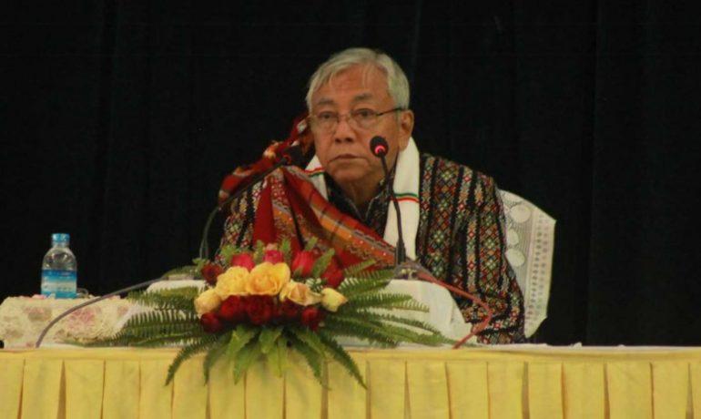 President talks development, budgeting in Chin State