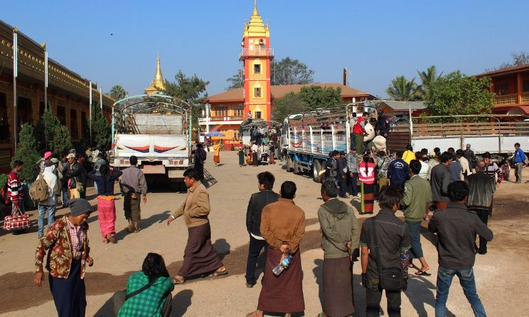 Tens of thousands displaced from Kokang as fighting persists