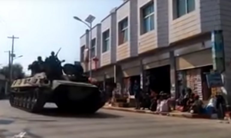 Abduction reports denied as army locks down Laogai in attack's wake