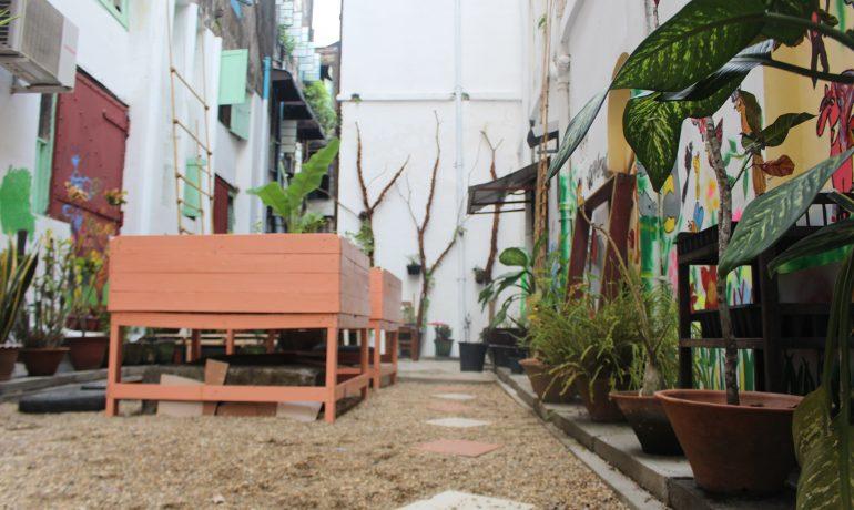Rangoon trash alley gets a makeover