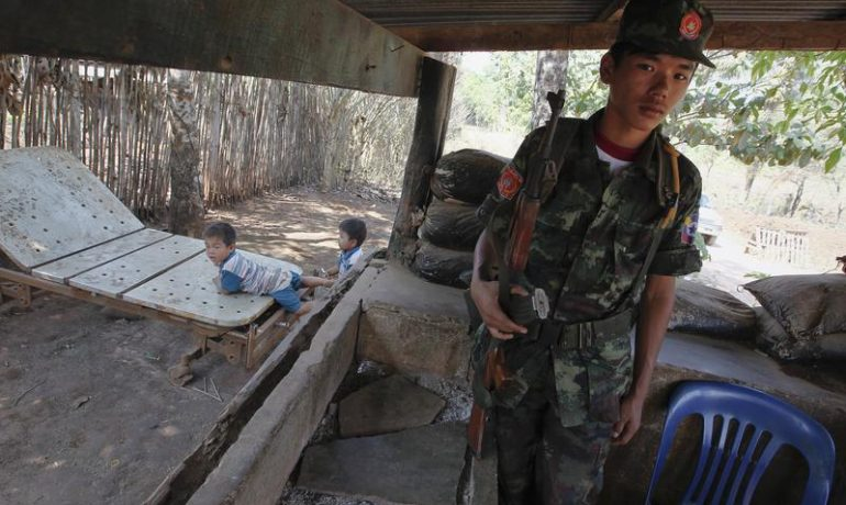 Mon armed group pushed to sign nationwide ceasefire