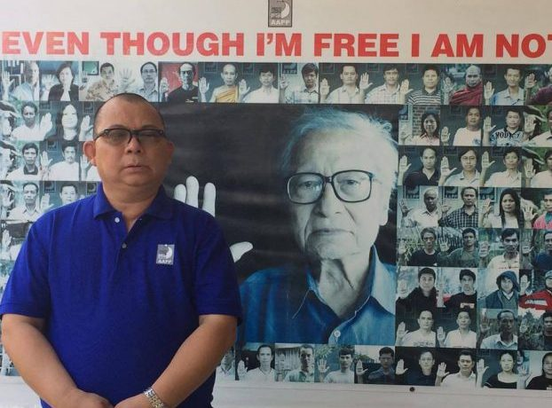 Blue Shirt Campaign calls for release of all political prisoners