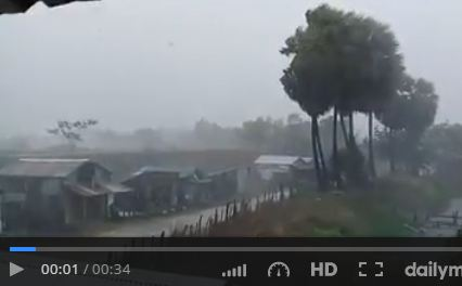 4 killed as Cyclone Maarutha hits Irrawaddy Delta