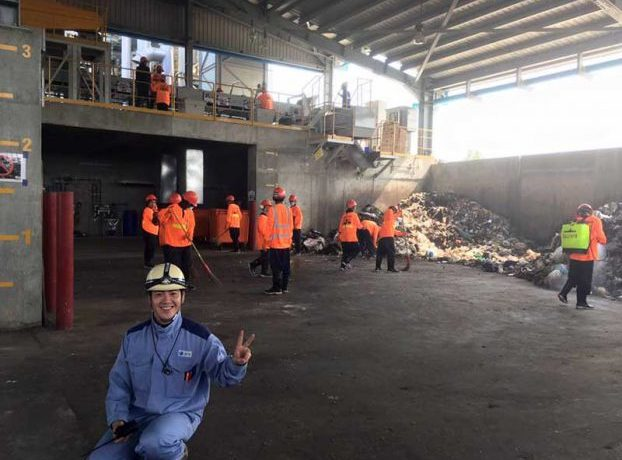 Power plant fuelled by rubbish comes online in Rangoon