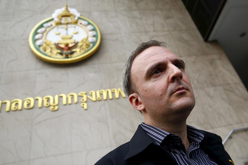 Thai court orders migrant rights activist Andy Hall to pay over $300,000