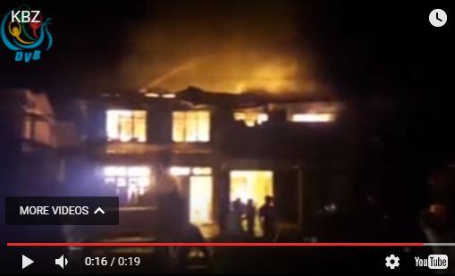 2 perish in fire at home of ex-VP Sai Mauk Kham's sister in Muse