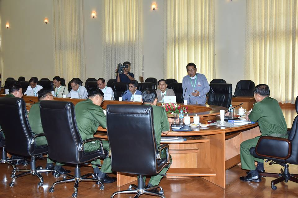 Army chief, major Arakanese political party meet as tensions in west simmer