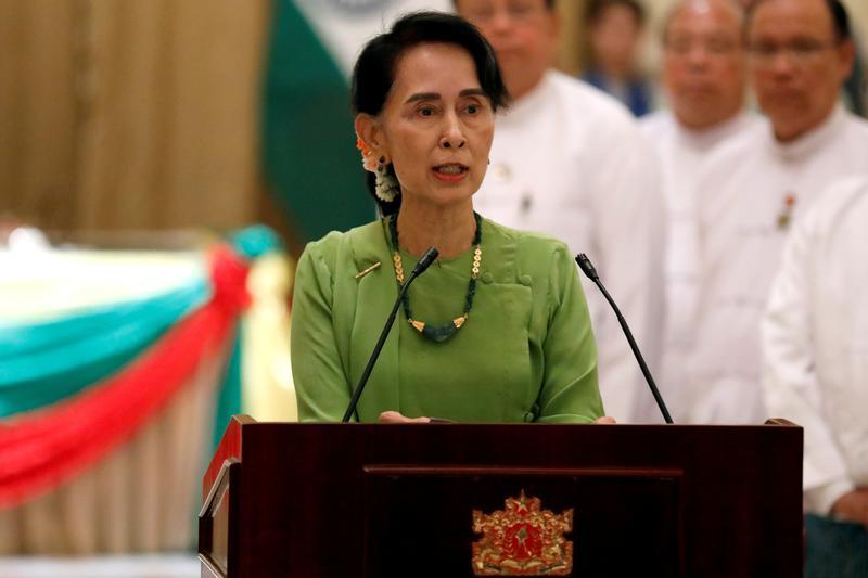Suu Kyi to address Arakan crisis concerns in Naypyidaw