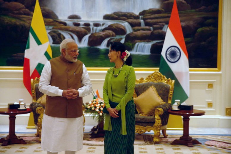 Modi to Suu Kyi: 'We share your concerns about extremist violence'  in Arakan