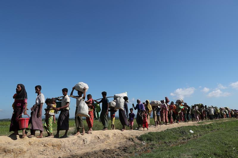 US calls security forces' operations in Rakhine State 'ethnic cleansing'