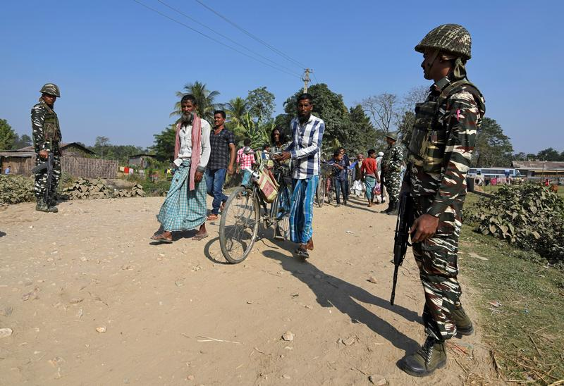 Indian state tense ahead of citizens list targeting 'illegal