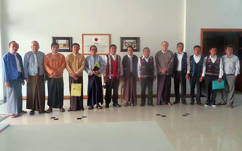 Burmese govt invites Naga rebels to peace talks