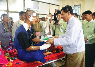 300 Namtu villagers flee as RCSS, TNLA resume fighting DVB