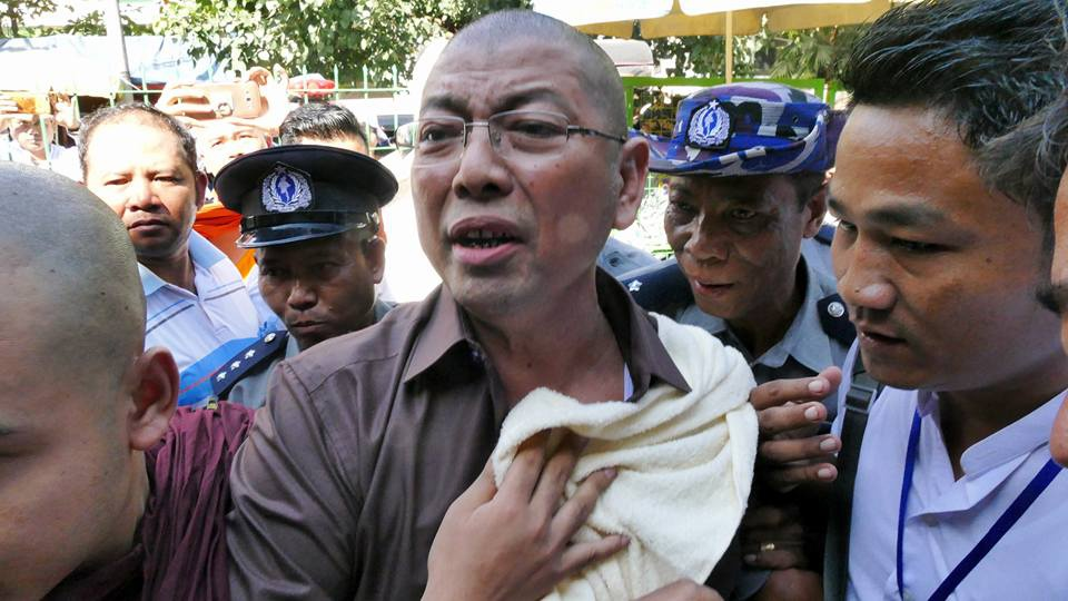 Prominent Buddhist monk sentenced to 3 months for 'inciting public unrest'