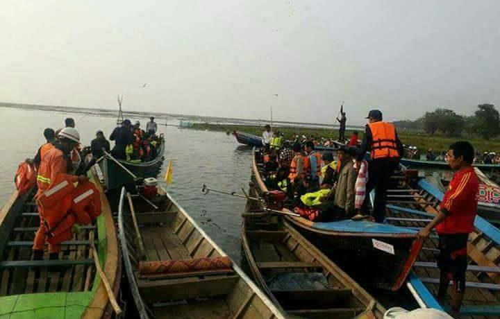 Nine schoolchildren drown in Kachin boat accident