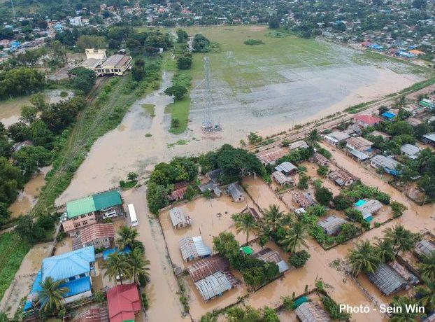 Floods surge in Kayah State