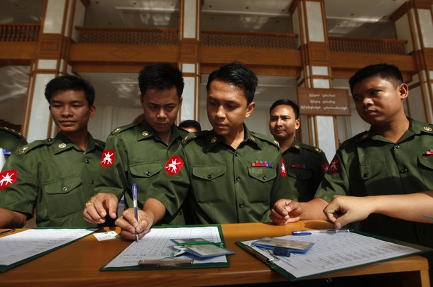 Can soldiers vote in Burma's elections without fear?