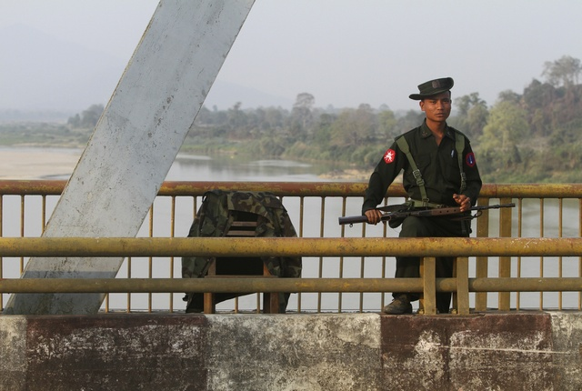 Former junta's soldiers face an uncertain future