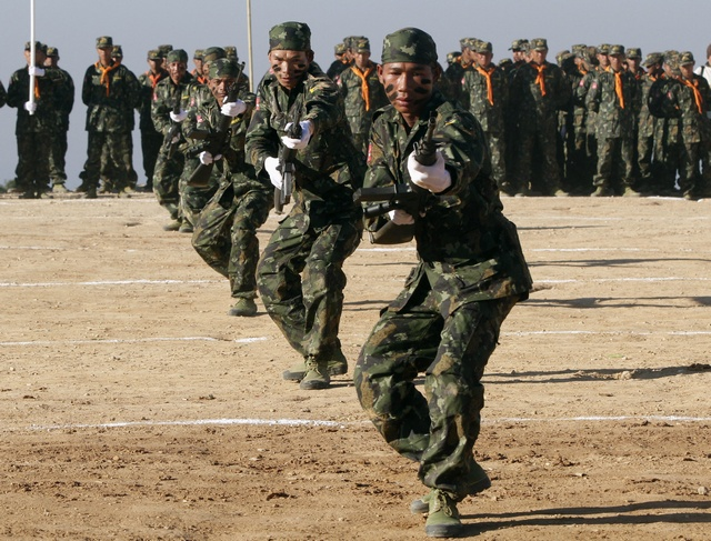 Shan army calls halt to election campaigning