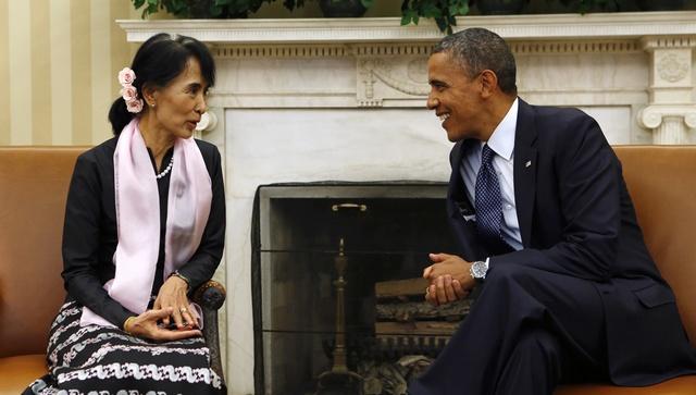 Suu Kyi accepts invitation to visit US