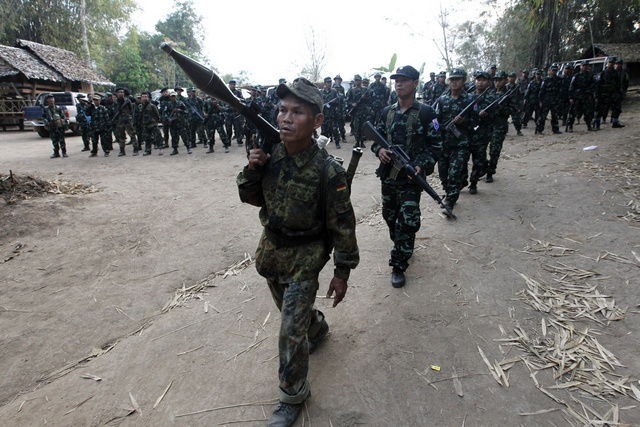 'No respite from militarisation' in southeast Burma: TBC