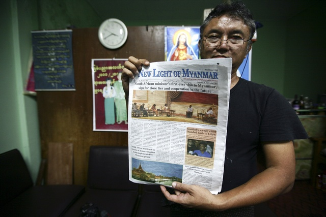 Burmese publishers leave newspapers on the scrapheap
