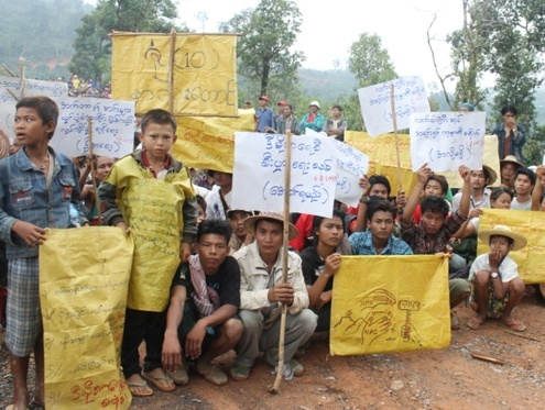 Four gold mine protestors sentenced to jail
