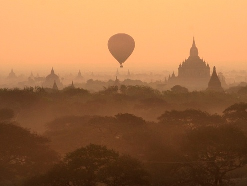 Burma pledges to relocate hotels from Bagan archaeological site