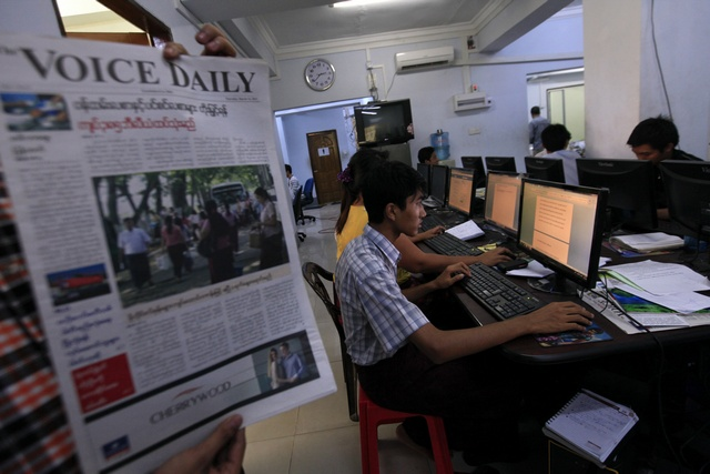 Challenges ahead as Burma's newspapers go daily