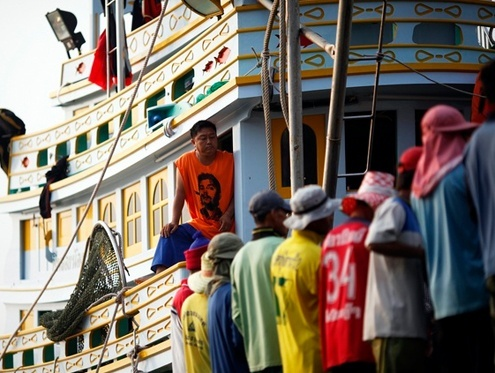 Thailand claims progress in effort to end sea slavery