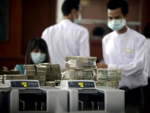 Four international banks to join finance sector in Burma