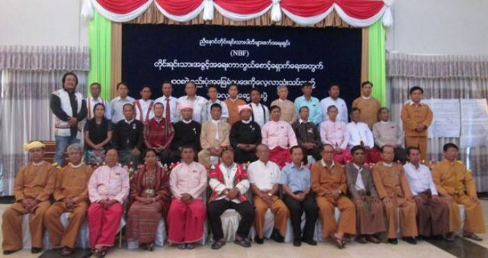 Faithful to the party: Saw Than Myint