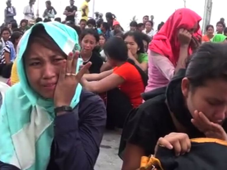 Woodworkers arrested on march to Mandalay