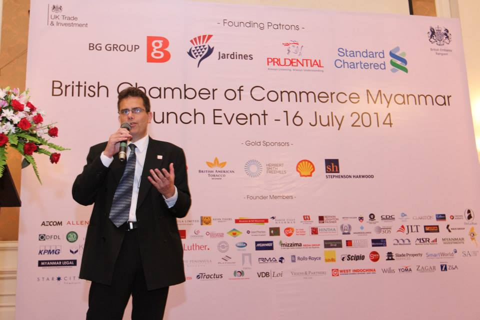 British Chamber of Commerce launched in Rangoon