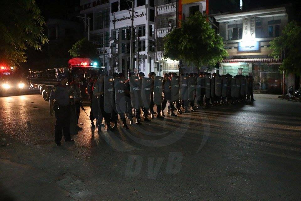 Curfew in place after deadly riots in Mandalay