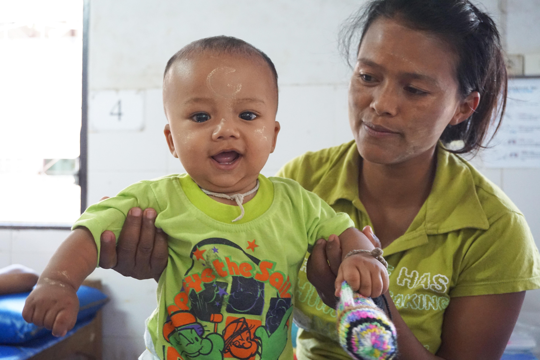 Photo essay: Lifeline on Thai-Burma border