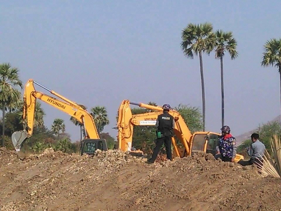 Latpadaung: slingshot fight leaves 9 villagers injured