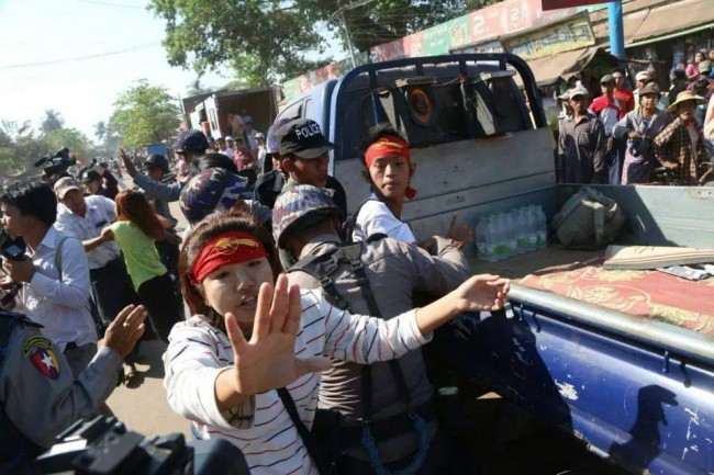 Anniversary of violent student protest crackdown at Latpadan