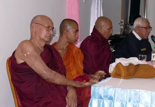 Monks injured in Latpadaung firebombing sue govt