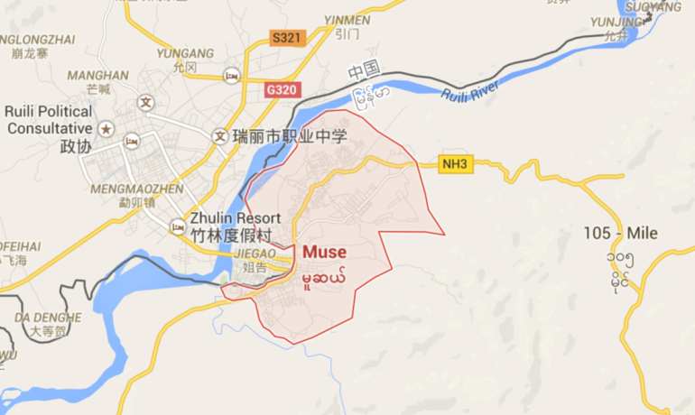 Foreigners in Muse released after being detained 'for their safety'
