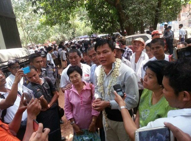 Six Latpadaung activists jailed for more than four years