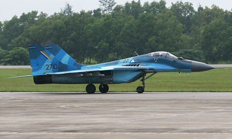 Burma tests out Russian jets in KNLA territory