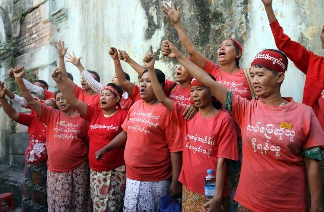 Moving the earth: Women take on land aggressors